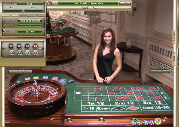 Casino roulette on line moutianer casino