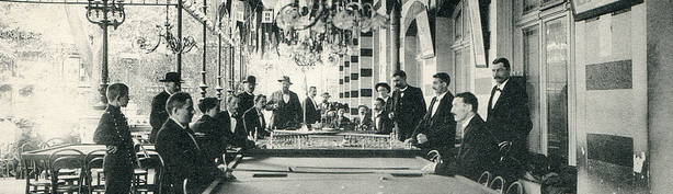 1900's casino players