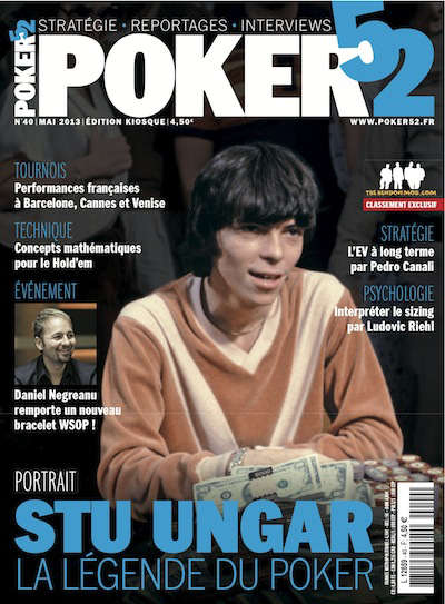 poker magazine cover